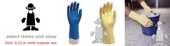 Safety Zone Gloves- Limited Time Special!