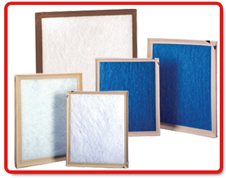 Purolator  Disposable Fiberglass & Poly Filters