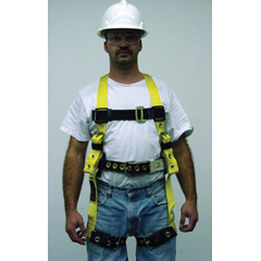 MLS493-8714LYK - Miller by SperianHeavy-Duty Non-Stretch Harnesses