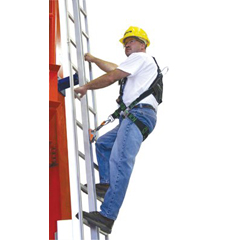 MLS493-GG0060 - Miller by SperianGlideLoc® Vertical Height Access Ladder System Kits