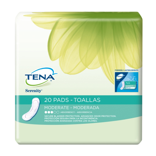 Sca Personal Care Bladder Control Pad Tena Extra Absorbency Dry Fast Core, 20EA/PK 6PK/CS at Sears.com