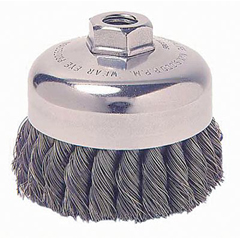 WEI804-12736 - WeilerGeneral-Duty Knot Wire Cup Brushes