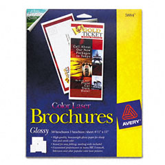 AVE5884 - Avery® Glossy Photo Quality Brochure Paper