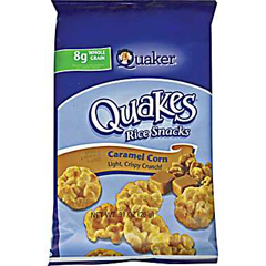 Quaker Rice Cakes Chocolate Calories in Quaker Rice Cakes