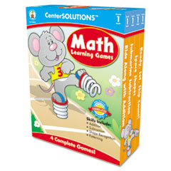 CDP140051 - Carson-Dellosa Publishing CenterSOLUTIONS™ Math Learning Games