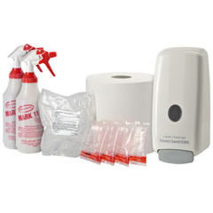 CLN50010 - Clean HoldingsDry Starter Pack for The Cleaning Station