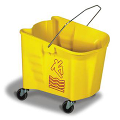CON335-3YW - ContinentalSplash Guard™ Mop Bucket