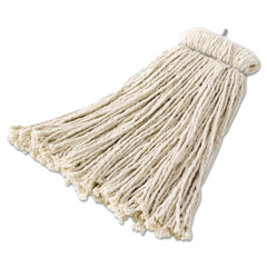 RCPF168 - Rubbermaid CommercialPremium Bolt-On Cut-End Cotton Mop Heads