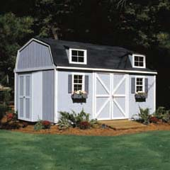 HHS18514-4 - Handy Home ProductsPremier Series - Berkley 10' x 16' Storage Building Kit