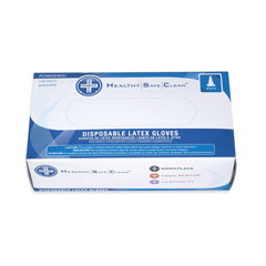 HSCGL-L105PS - HospecoProWorks® Latex Powdered Disposable Gloves - Small