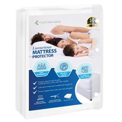 BBGHYB-1002 - Bed Bug 911Hygea Natural™ Luxurious Bed Bug Mattress Cover- XL Twin Size