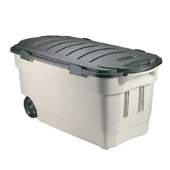 RHP2463DIM - Rubbermaid CommercialRoughneck™ Wheeled Storage Box- 45 Gallon