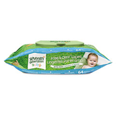 SEV34208 - Seventh Generation® Chlorine Free Baby Wipes