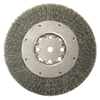 Abrasives: Anderson Brush - Medium Face Crimped Wire Wheels-DMX Series-1 Dense Section