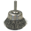 Abrasives: Anderson Brush - Crimped Wire Cup Brushes-NH Series-Hollow End