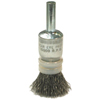 Abrasives: Anderson Brush - Crimped Wire End Brushes-NSNT Series-Coated Cup-Variable Trim