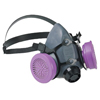 respiratory protection: North Safety - 5500 Series Low Maintenance Half Mask Respirators