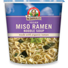 quick meals: Dr. Mcdougall's - Miso Soup with Organic Noodles Big Cup