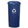Safco-round-containers: Witt Industries - Tall Round Can Recycling Wastebasket