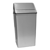 waste receptacle and can liners: Witt Industries - Wastewatcher Swing-Top Receptacle