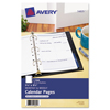 folders and binders and planners: Avery® Undated Calendar Refill