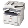 printers and multifunction office machines: Oki® MB491 MFP Mono Multifunction Laser Printer