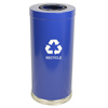 Recycling Containers: Witt Industries - One Hole Indoor Recycling Container