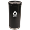 Recycling Containers: Witt Industries - Three Hole Indoor Recycling Container