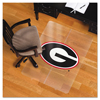chair mats: ES Robbins® Collegiate Series Chair Mat for Hard Floors