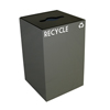 recycling and trash liners: Witt Industries - Geocube Recycling Unit - Round/Slot Opening