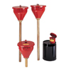 Safety storage & security carts: Justrite - Safety Drum Funnels