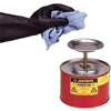 Safety storage & security carts: Justrite - Plunger Cans