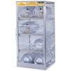Safety storage & security carts: Justrite - Aluminum Cylinder Lockers