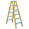 ladders: Louisville Ladder - FM1100HD Series Rhino 375™ Twin Front Fiberglass Mechanic Step Ladders