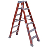ladders: Louisville Ladder - FM1500 Series Fiberglass Twin Front Ladders