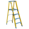 ladders: Louisville Ladder - FP1100HD Series Rhino 375™ Fiberglass Platform Step Ladders