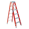 ladders: Louisville Ladder - FS1400HD Series Brute™ 375 Fiberglass Step Ladders