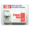 first aid kits: Pac-Kit - Contractor's First Aid & Eye Flush Stations