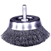 Abrasives: Weiler - Stem-Mounted Crimped Wire Cup Brushes