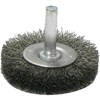 Abrasives: Weiler - Crimped Wire Radial Wheel Brushes
