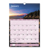 calendars: AT-A-GLANCE® Scenic Monthly Wall Calendar