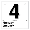 "folders and binders and planners: AT-A-GLANCE® ""Today Is"" Daily Wall Calendar Refill"