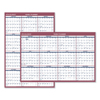 folders and binders and planners: AT-A-GLANCE® Reversible Vertical/Horizontal Yearly Wall Calendar