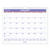 folders and binders and planners: AT-A-GLANCE® Monthly Wall Calendar