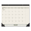calendars: AT-A-GLANCE® Recycled Monthly Two-Color Desk Pad Calendar