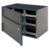 storage organizers: Akro-Mils - 9-Drawer Storage Hardware and Craft Organizerwith Locking Door