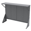 metal shelving units: Akro-Mils - Single-Sided Low Profile Louvered Floor Rack with Shelf