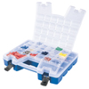 storage organizers: Akro-Mils - Plastic Portable Hardware and Craft Parts Organizer