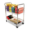 Stearns-packaging: Alera® Wire Mail Cart