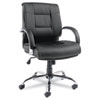leatherchairs: Alera® Ravino Series Mid-Back Swivel/Tilt Leather Chair